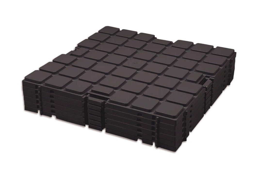 Raised Expo floor Basic tiles for 18m2 (72 pieces)