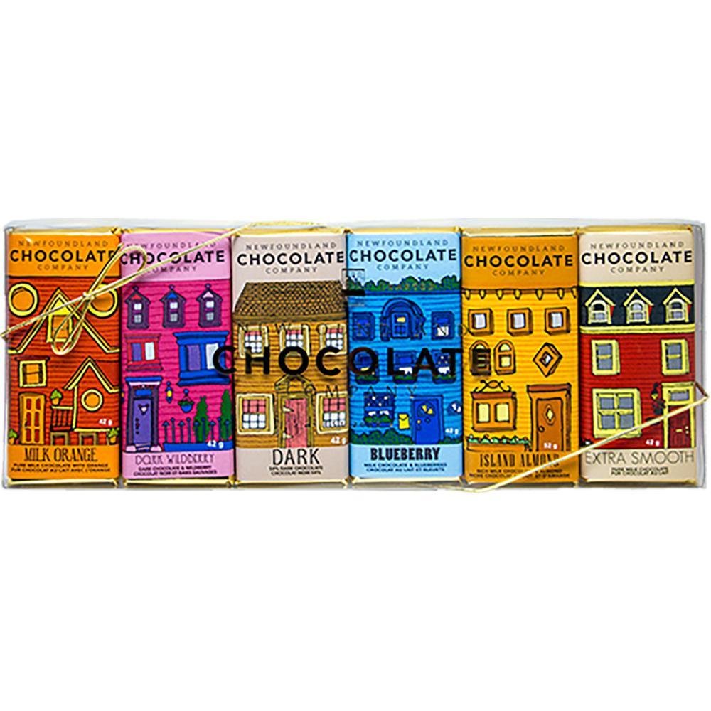 Newfoundland Chocolate Company Cocoa Bean Row Bar Set