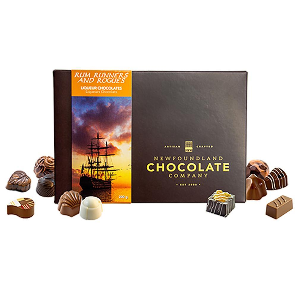 Newfoundland Chocolate Company Rum Runners and Rogues Series