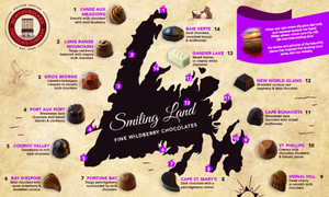 Newfoundland Chocolate Company Smiling Land Series