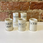 Load image into Gallery viewer, Saucy Pots White Shot Glass