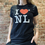 Load image into Gallery viewer, I ❤️'s NFLD Unisex T-Shirt - Black
