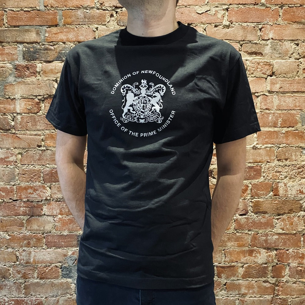 Dominion of Newfoundland Unisex T-Shirt - Black & White