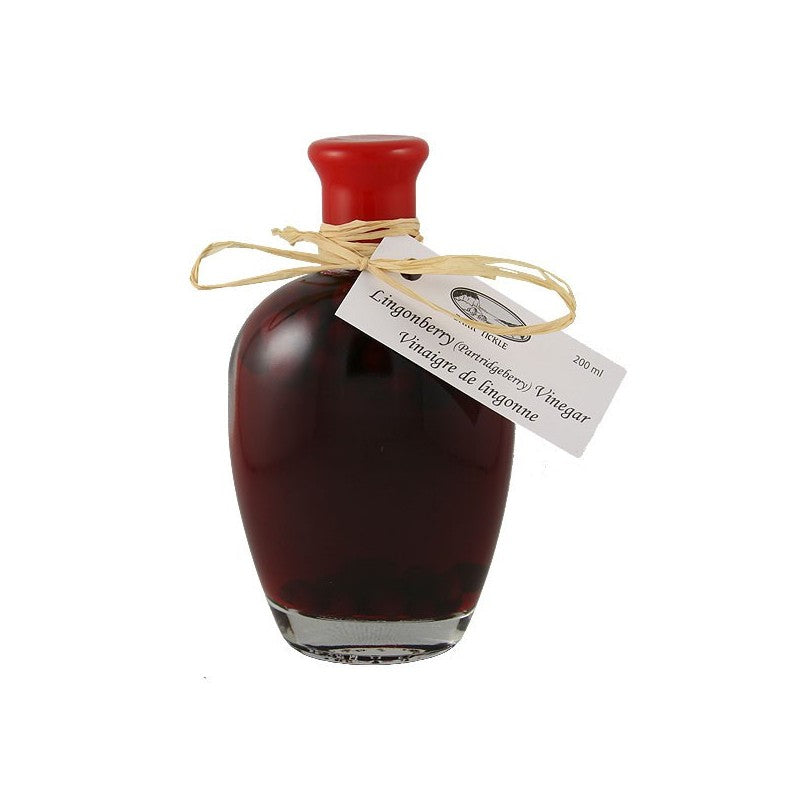 Dark Tickle Lingonberry (Partridgeberry) Vinegar