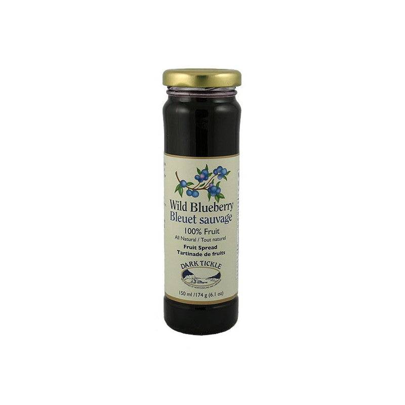 Dark Tickle Wild Blueberry 100% Fruit Spread
