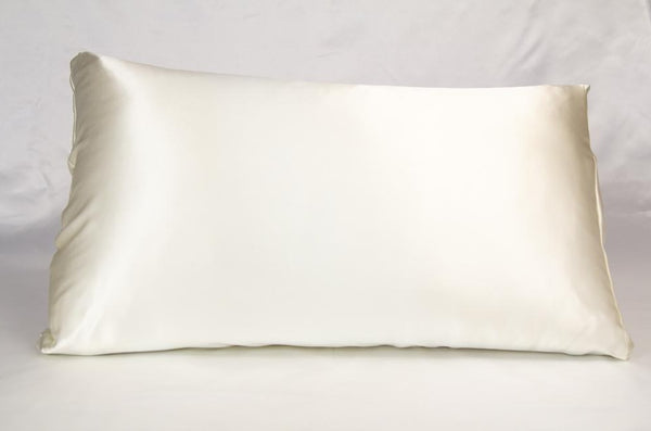 Mulberry Silk Pillowcase - Ivory Cream