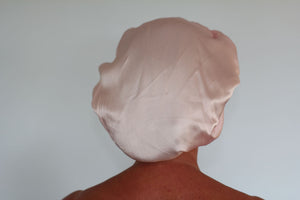 Silk Sleep Cap - Pale Pink