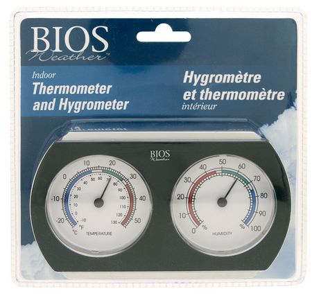 Bios Analog Thermomter/Hygrometer Desk Top