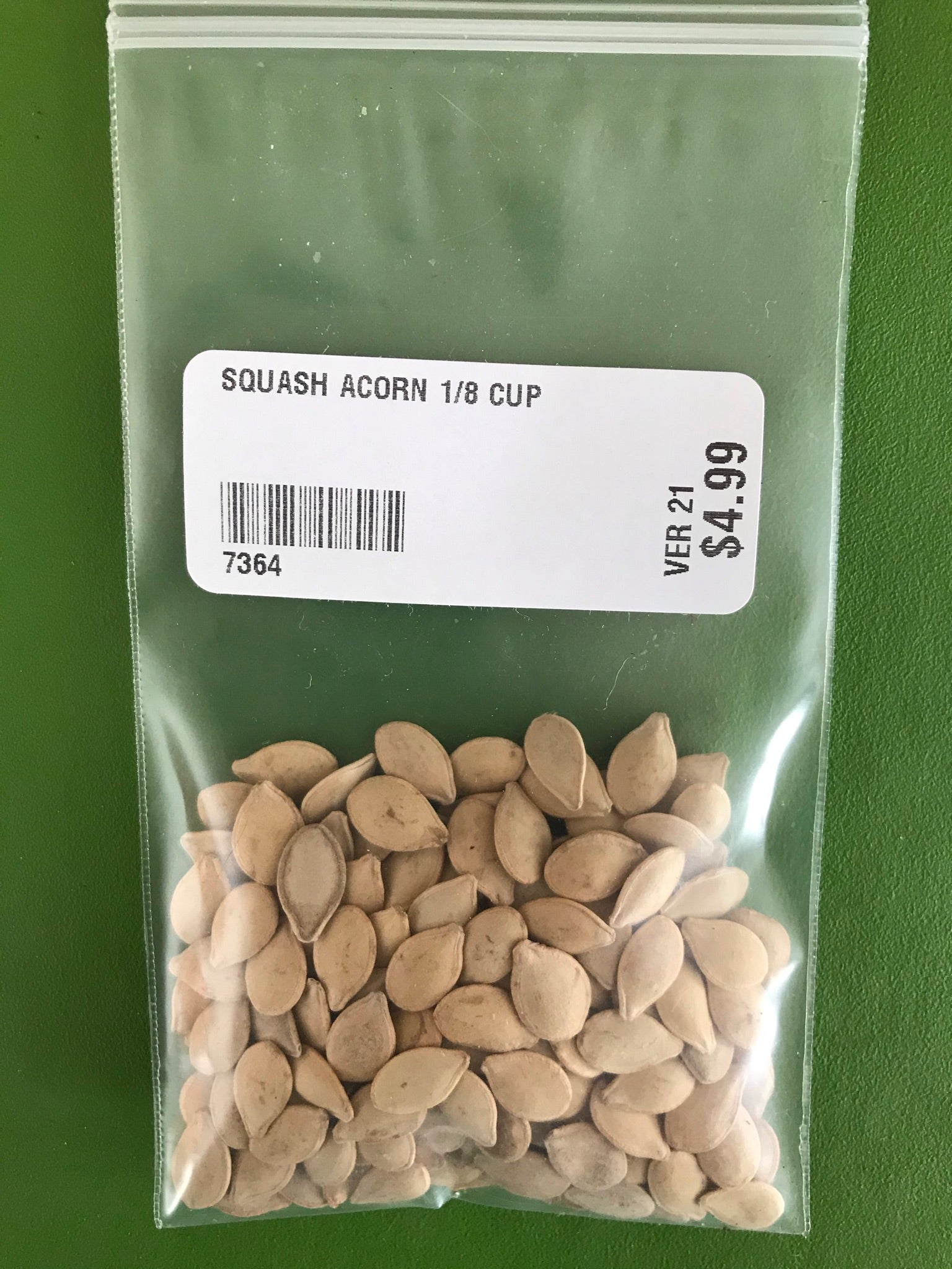 Table Queen Squash Seeds (Winter Type)  (80 days) -1/8 Cup - Bulk