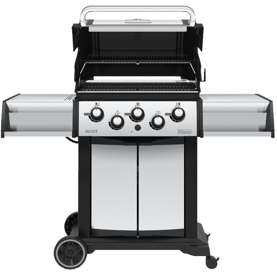 Broil King Signet 390 Propane BBQ - 3 Burners + Side & Rotisserie Burners