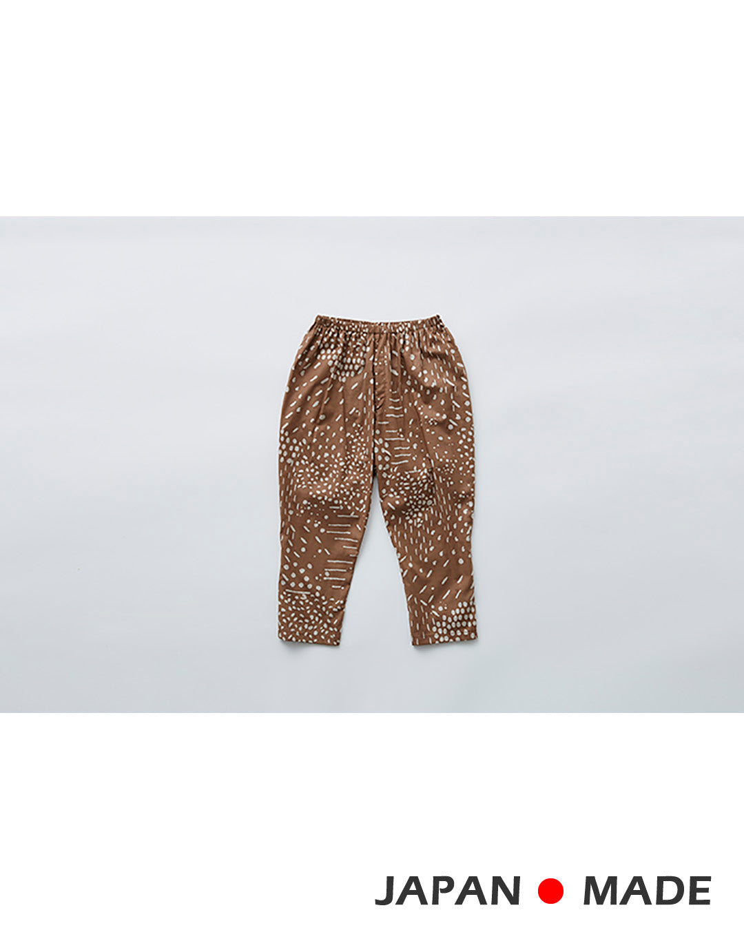 エルフィンフォルク/elfinfolk qilin pants (brown)211F05