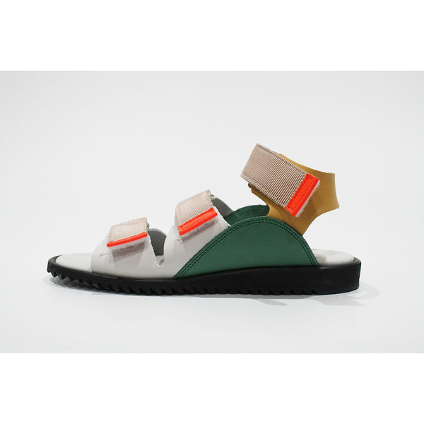 ☆預訂☆bedsidedrama/床邊劇 Tropical Leather Sandal(白色)(WOMAN)交貨期3月底
