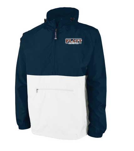 Platt Pack and Go Pullover - Navy/White - Adult