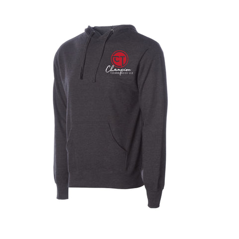 CT Midweight Hoodie- Charcoal Heather - Youth & Adult