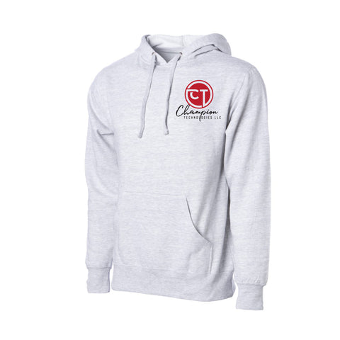 CT Midweight Hoodie- Gray Heather - Youth & Adult