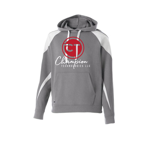 CT Prospect Hoodie - Gray/White - Youth
