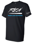 Razin Cain Showpigs Tee - Black - Youth & Adult