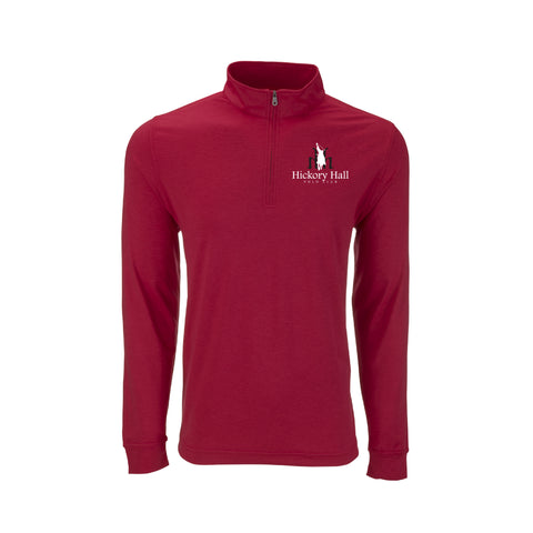 Hickory Hall Polo Club - Zen Performance Pullover - Sport Red - Mens/Unisex