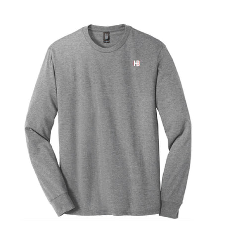 Hild Bros Long Sleeve Tee - Grey Frost - Adult