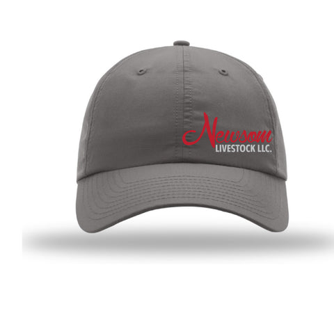 Newsom Livestock/Champion Technologies Richardson 220 Hat - Charcoal- Unstructured