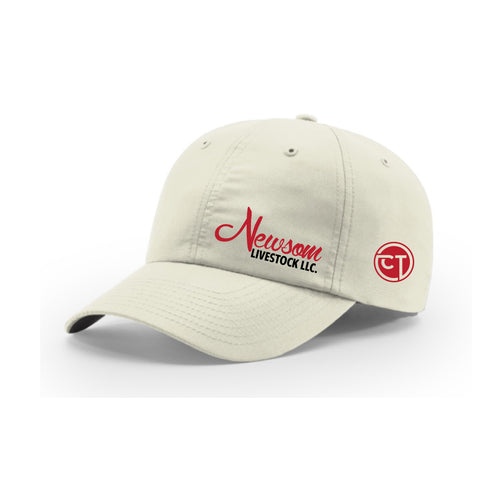 Newsom Livestock/Champion Technologies Richardson 220 Hat - Stone- Unstructured