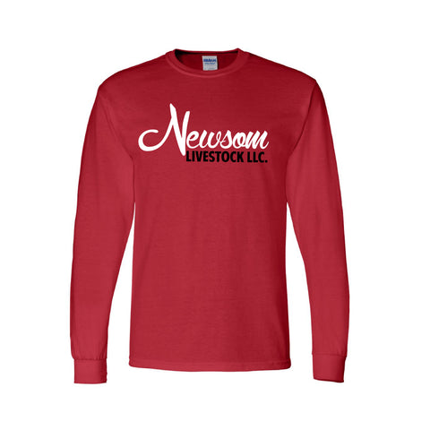 NL/CT Long Sleeve Tee - Red - Youth & Adult