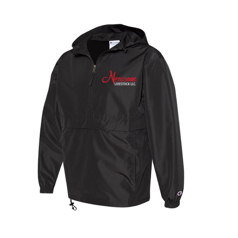 Newsom Livestock Windbreaker - Black - Adult