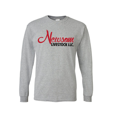 NL/CT Long Sleeve Tee - Gray - Adult