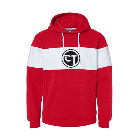 Champion Technologies Varsity Fleece Sweatshirt - Red - Mens/Unisex