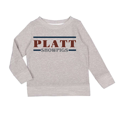 Platt Crewneck - Grey - Toddler