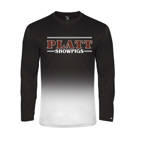 Platt - Long Sleeve - Black - Youth