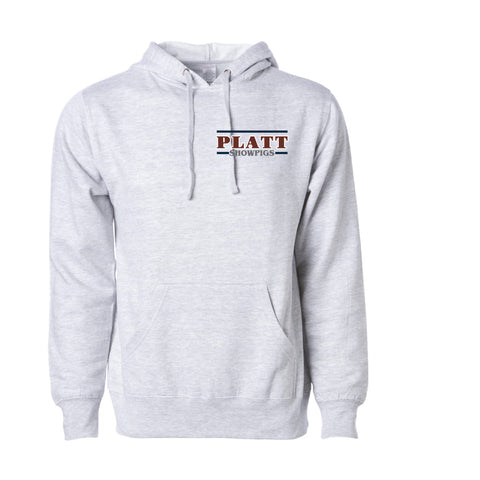 Platt Midweight Hoodie - Gray Heather - Youth and Adult