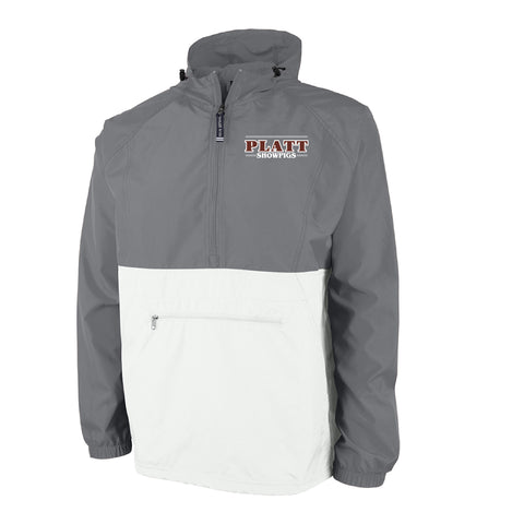 Platt Pack and Go Pullover - Gray/White - Adult