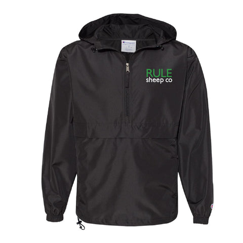 Rule Sheep Co - Windbreaker - Adult - Black