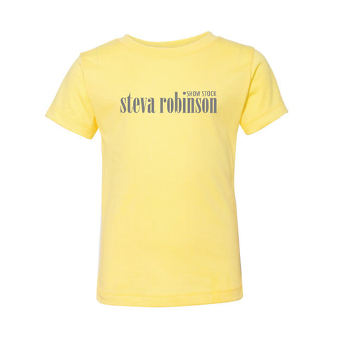 Steva Robinson Softstyle Tee - Yellow  - Toddler