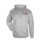 Upperhand Line Embossed Hooded Sweatshirt - Silver- Youth & Adult