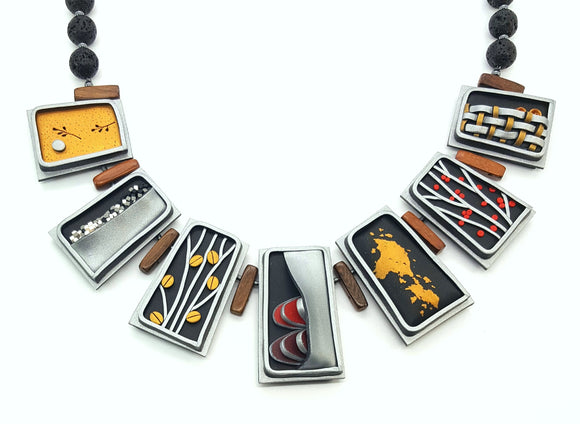 Tile Necklace