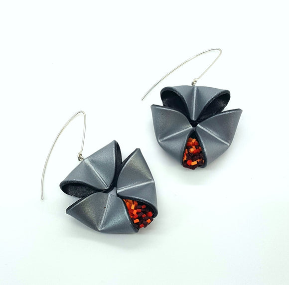 Folded Earrings