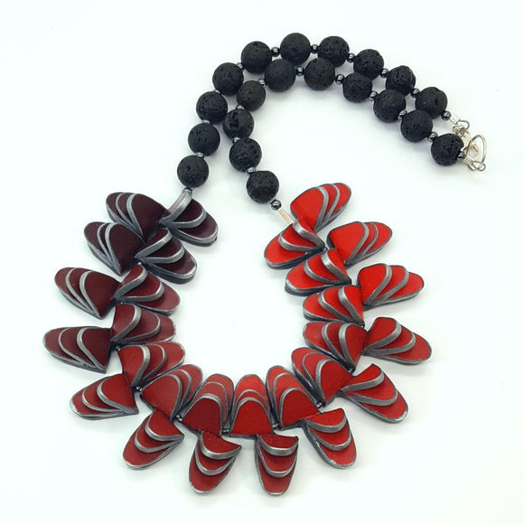 Migration of Butterfly necklace (median)