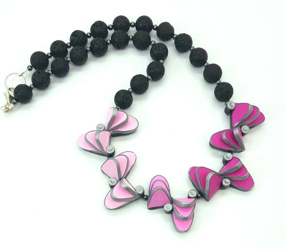 Migration of Butterfly necklace (small)