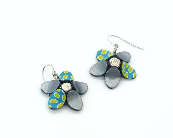 Flower in Flower Earrings