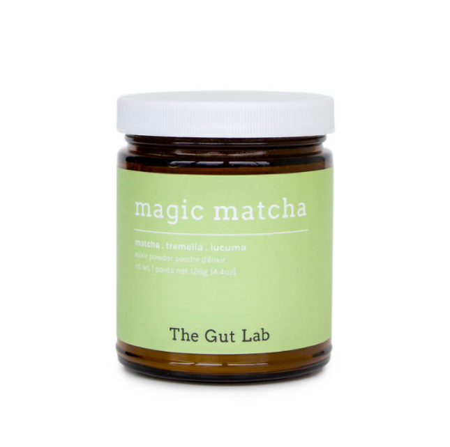 jar of magic matcha powder