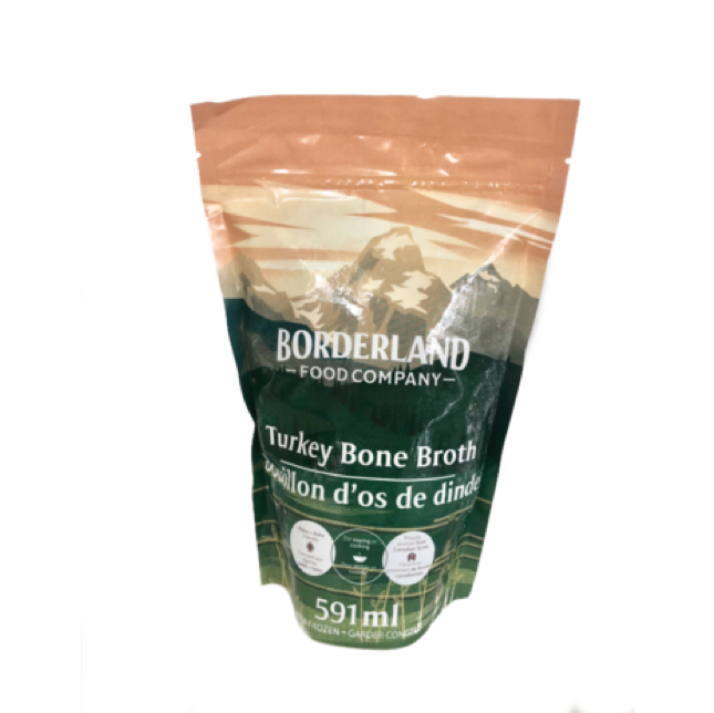 bag of turkey bone broth