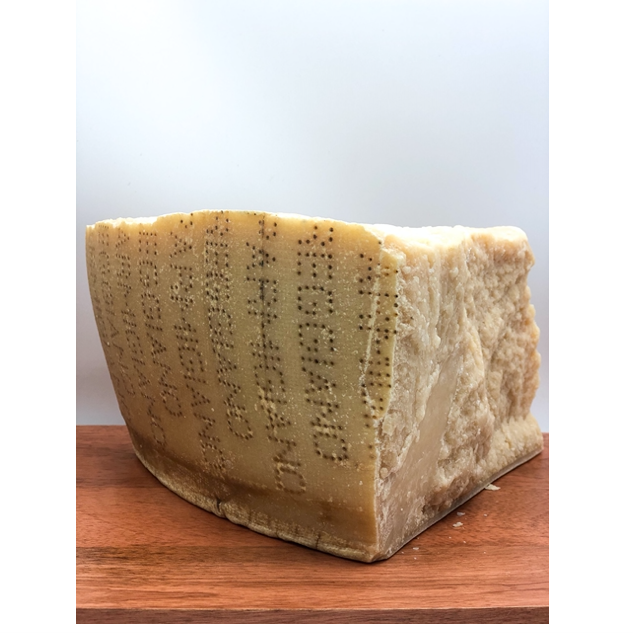 slice of parmigiano reggiano cheese