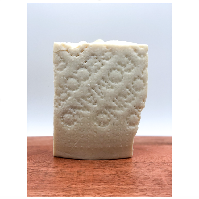 slice of pecorino Romano cheese
