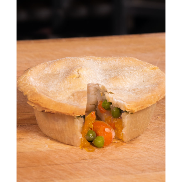baked gluten free chicken pot pie