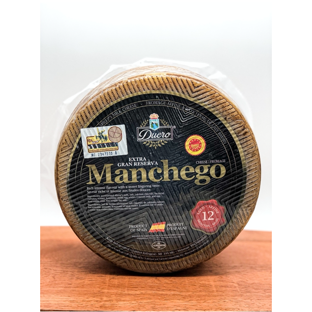 Wheel of Manchego cheese