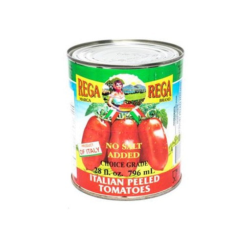 Italian Peeled Tomatoes- With Basil/No Salt Added