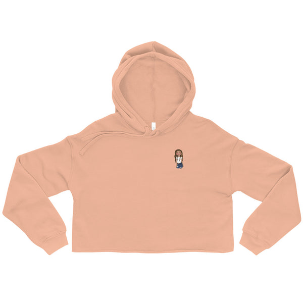 Crop Hoodie | Rose Colored Glasses Logo