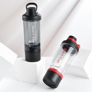 F1natix Casual Fitness Sport Three-layer Water Bottle